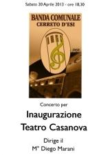 locandina inaugurazione teatro 20-04-2013